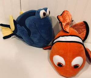 Disney Authentic Nemo, Dory and Crush Plush stuffed animals set for Sale in Gahanna, OH
