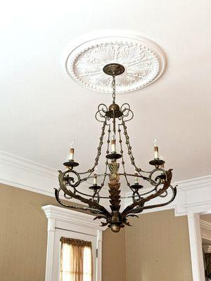 Vintage bronze chandelier $150 OBO for Sale in Lloyd Harbor, NY