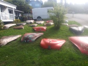 Lots of old car hoods. Might be something you need. From 1940s-50s for Sale in Seattle, WA