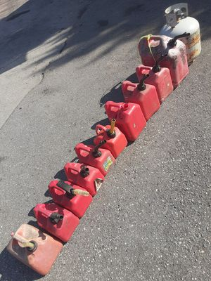 Gas Cans Your Choice $1 Each for Sale in Holiday, FL
