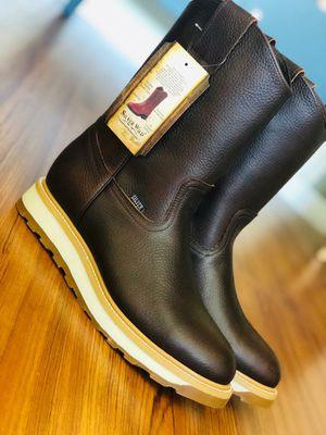 Botas de trabajo / Work Boots --- Handmade Leon Gto Mex --- Piel Aceitada --- Garantizadas for Sale in Downey, CA