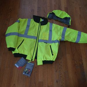 Safety Jacket/ Bomber Jacket for Sale in Carol Stream, IL