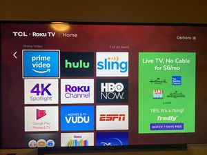 TCL 55 inch - good as new for Sale in Bedford, TX