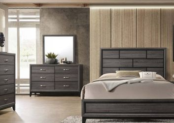 ••Bedroom Clearance ••🌟🌟BEDROOM SET: QUEEN BED + NIGHTSTAND+ DRESSER+ MIRROR (**Mattress and Chest not included**)🌟🌟 for Sale in Whittier,  CA