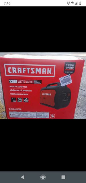 Craftsman generator for Sale in Wimauma, FL