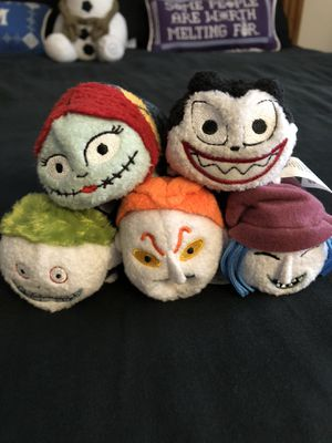 Set of five nightmare before Christmas Tsum Tsum for Sale in Tampa, FL