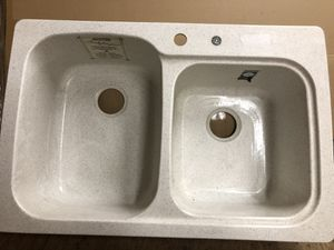 Swanstone Double Bowl Kitchen Sink for Sale in Pittsburgh, PA