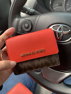 Michael Kors Red Wallet for Sale in Silver Spring, MD