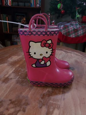 Toddler girl rain boots size 7/8 for Sale in Alta Loma, CA