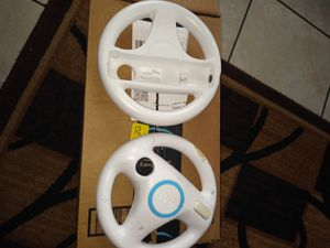 2 Nintendo Wii wheels for Sale in Cerritos, CA