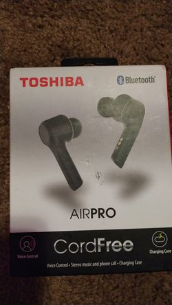 Toshiba airpro bluetooth headphones for Sale in Beaverton,  OR