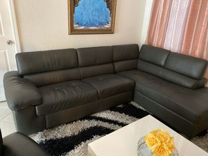Sectional grey living room for Sale in Miami, FL