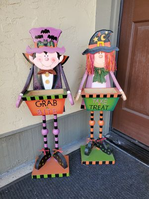 Halloween Decorations Candy Holders for Sale in San Diego, CA