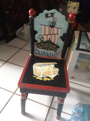 Nice Kids Wood Chair for Sale in Miramar, FL