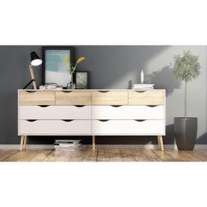 Oak Dowler 8 Drawer Double Dresser for Sale in Sterling, VA