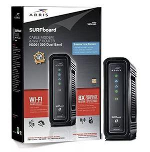 ARRIS Surfboard - N300 Sbg6580 - Modem & WiFi Router for Sale in Jersey City, NJ