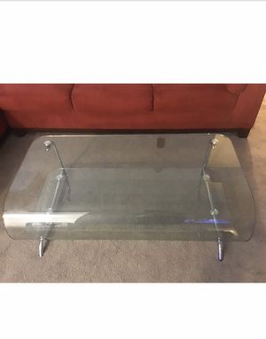 Glass coffee table for Sale in Fairfax, VA