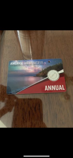 National parks season pass for Sale in San Ramon, CA