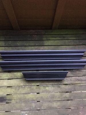 Wall Shelving 3 piece set (Black) for Sale in Mountlake Terrace, WA