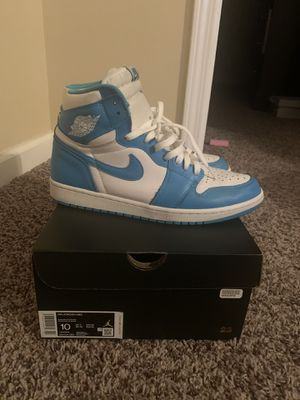 Jordan 1 UNC Size 10 pre-owned for Sale in Nashville, TN