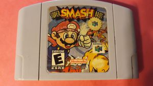 Smash brothers Nintendo 64 $39 firm for Sale in Lawndale, CA