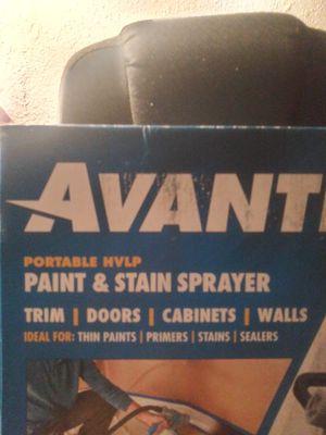 Avanti paint n stain sprayer for Sale in Sanger, CA