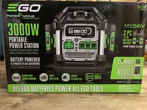 Ego 3000w portable power station generator for Sale in Brighton, CO