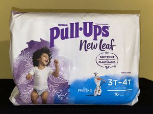 Huggies New Leaf Pull Ups for Sale in Grand Prairie, TX