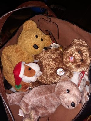 17 TY Products mostly beanie babies many tagged for Sale in Stockton, CA