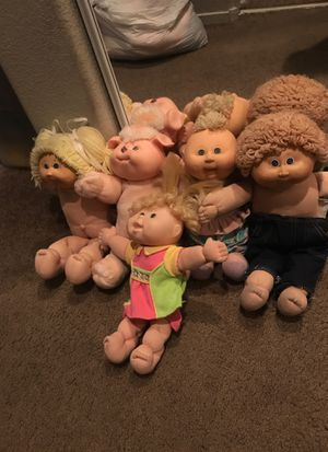 Vintage Cabbage Patch Dolls (5) for Sale in Las Vegas, NV