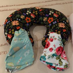 Boppy Pillow And Car seat Head Support for Sale in Fort Lauderdale,  FL