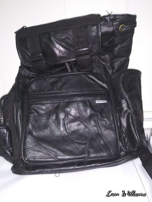 Black Leather Backpack for Sale in Snellville, GA