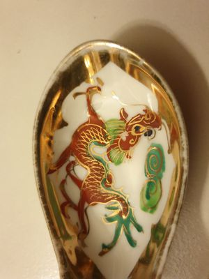 chinese antique dragon spoon for Sale in ROWLAND HGHTS, CA