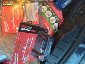 Milwaukee batteries for Sale in Conyers, GA