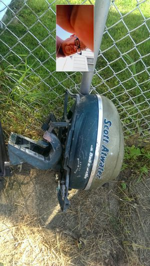 Vintage Scott Atwater 5hp Outboard boat motor for Sale in Chicago, IL