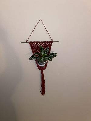 Macrame plant holder for Sale in Hayward, CA