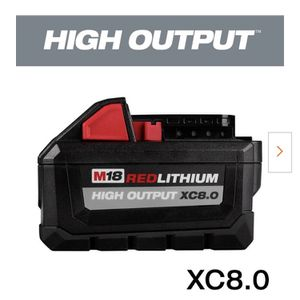 Milwaukee M18 High Output 8.0 Battery for Sale in Santee, CA