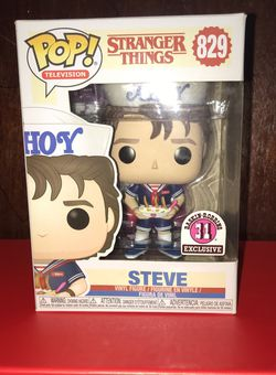 Steve AHOY Stranger Things Funko Pop 31 Once Exclusive Baskin Robbins for Sale in Queens,  NY