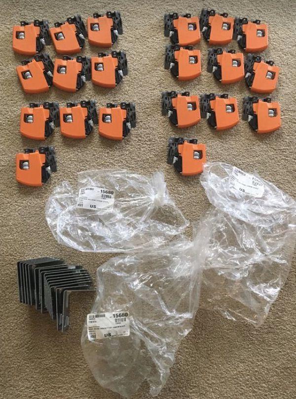Kitchen cabinet hardware drawer locking devices, Blum