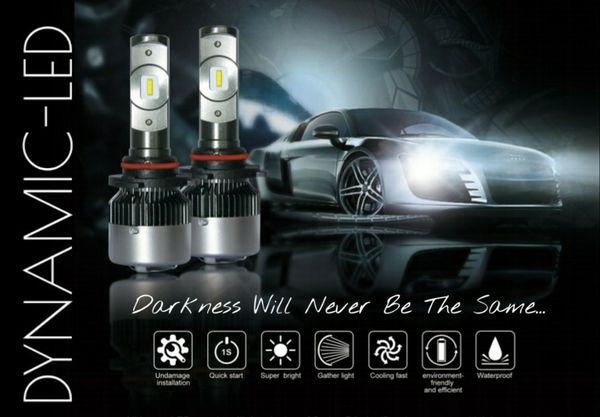 Dodge Ford GMC LED headlight conversion kit