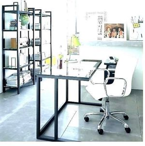 White Metal Desk - Crate and Barrell for Sale in Fremont, CA