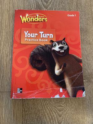 Grade 1 Wonders Practice workbook for Sale in North Miami Beach, FL