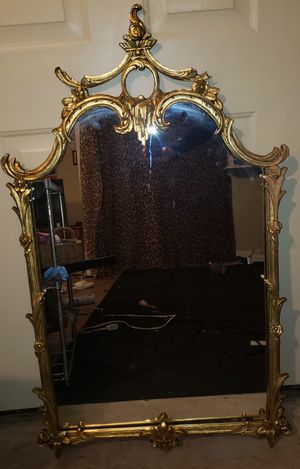 1850-1900 19th century french louis XVI style mirror for Sale in North Benton, OH