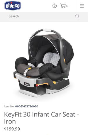 Chicco KeyFit 30 Car Seat for Sale in Laredo, TX