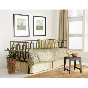 Contemporary Design Metal Frame Daybed, and Memory Foam Mattress - $375 for Sale in Bethesda, MD