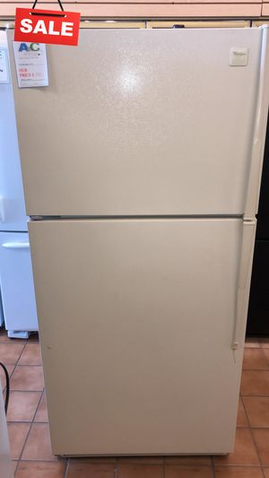 FIRST COME!!CONTACT TODAY! Refrigerator Fridge Whirlpool Top Freezer #1481 for Sale in Aspen Hill, MD