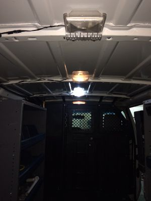 Cargo van shelving and safety cage with access door for Sale in Roseville, CA