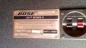 Bose speakers from 1975 - 1982 direct reflecting speakers for Sale in Fresno, CA