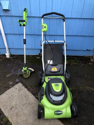 Lawn mower and weed whacker for Sale in Portland, OR
