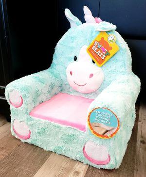 NEW Sweet Seats Kids Toddler Unicorn Plush Chair: njft bedrm for Sale in Burlington, NJ